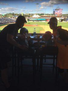 Die Honekamps beim Baseball (Bild: Felix Honekamp)