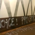 Bild: Vandalismus in der Beratungszentrale von 1000plus